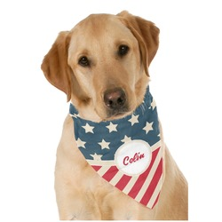 Stars and Stripes Pet Bandanas (Personalized)