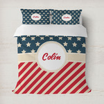 Stars and Stripes Duvet Cover (Personalized)