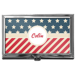 Stars and Stripes Business Card Case