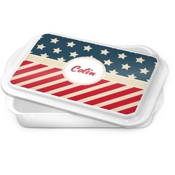 Stars and Stripes Cake Pan (Personalized)