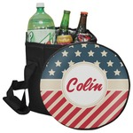Stars and Stripes Collapsible Cooler & Seat (Personalized)