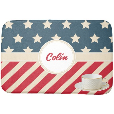 Stars and Stripes Dish Drying Mat (Personalized)