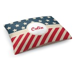 Stars and Stripes Dog Bed (Personalized)