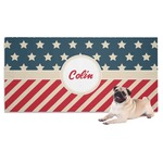 Stars and Stripes Pet Towel (Personalized)