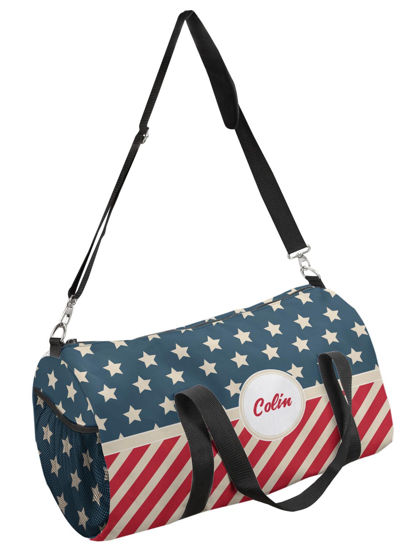 YouCustomizeIt Americana Duffel Bag Personalized