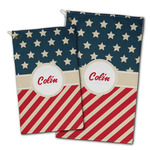 Stars and Stripes Golf Towel - Full Print w/ Name or Text