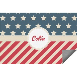 Stars and Stripes Indoor / Outdoor Rug - 6'x9' (Personalized)