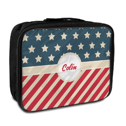 Stars and Stripes Insulated Lunch Bag (Personalized)