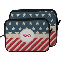 Stars and Stripes Laptop Sleeve / Case (Personalized)