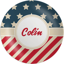 Stars and Stripes Melamine Plate - 8