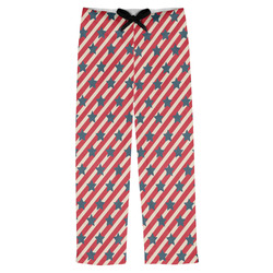 Stars and Stripes Mens Pajama Pants (Personalized)