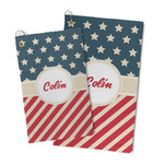 Stars and Stripes Microfiber Golf Towel (Personalized)