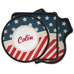 Stars and Stripes Iron on Patches (Personalized)
