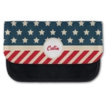 Stars and Stripes Canvas Pencil Case w/ Name or Text
