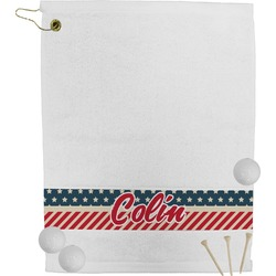 Stars and Stripes Golf Towel (Personalized)