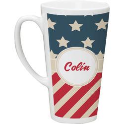 Stars and Stripes Latte Mug (Personalized)