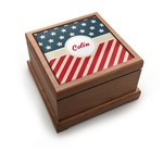 Stars and Stripes Pet Urn (Personalized)