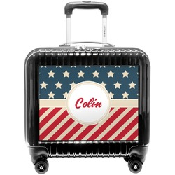 Stars and Stripes Pilot / Flight Suitcase (Personalized)