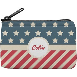Stars and Stripes Rectangular Coin Purse (Personalized)