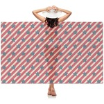 Stars and Stripes Sheer Sarong (Personalized)