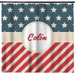 Stars and Stripes Shower Curtain (Personalized)