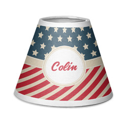 Stars and Stripes Chandelier Lamp Shade (Personalized)