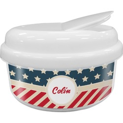 Stars and Stripes Snack Container (Personalized)