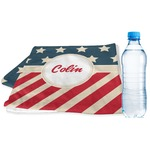 Stars and Stripes Sports & Fitness Towel (Personalized)