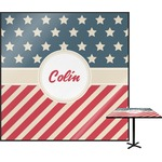 Stars and Stripes Square Table Top (Personalized)