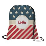 Stars and Stripes Drawstring Backpack (Personalized)