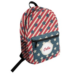 Stars and Stripes Student Backpack (Personalized)