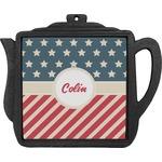 Stars and Stripes Teapot Trivet (Personalized)