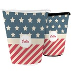 Stars and Stripes Waste Basket (Personalized)