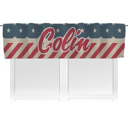 Stars and Stripes Valance (Personalized)