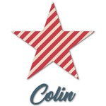 Stars and Stripes Graphic Decal - Custom Sizes (Personalized)