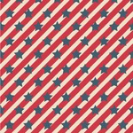 Stars and Stripes Wallpaper & Surface Covering