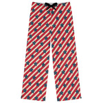 Stars and Stripes Womens Pajama Pants (Personalized)