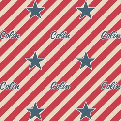 Stars and Stripes Wrapping Paper (Personalized)