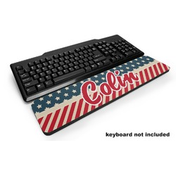 Stars and Stripes Keyboard Wrist Rest (Personalized)