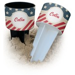 Stars and Stripes Beach Spiker Drink Holder (Personalized)