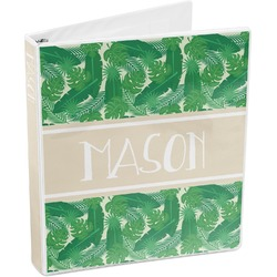 Tropical Leaves 2 3-Ring Binder (Personalized)