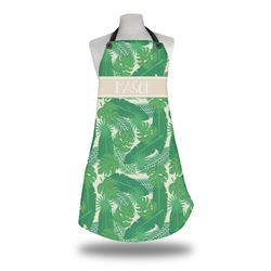 Tropical Leaves 2 Apron (Personalized)