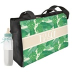 Tropical Leaves #2 Diaper Bag w/ Name or Text