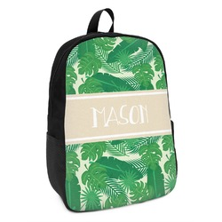 Tropical Leaves 2 Kids Backpack (Personalized)