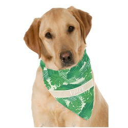Tropical Leaves 2 Pet Bandanas (Personalized)