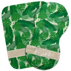 Tropical Leaves #2 Burp Cloth (Personalized)