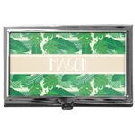 Tropical Leaves #2 Business Card Case