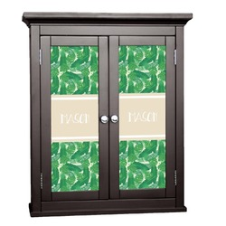Tropical Leaves 2 Cabinet Decal - Custom Size (Personalized)