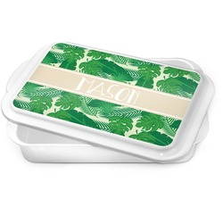 Tropical Leaves 2 Cake Pan (Personalized)
