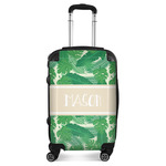 Tropical Leaves #2 Suitcase (Personalized)